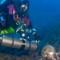 antikythera shipwreck diver 1