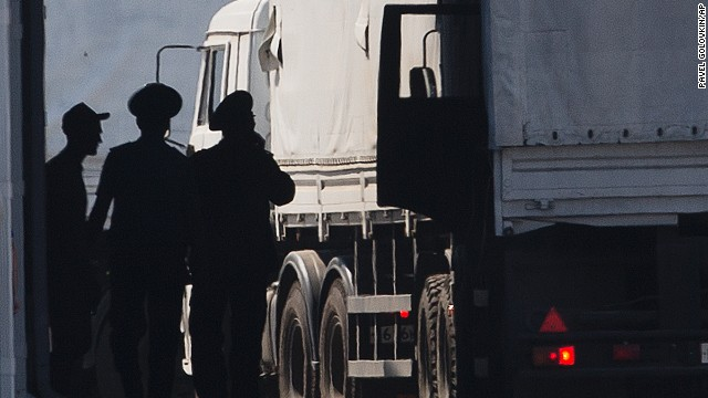 Pentagon condemns Russian convoy movement