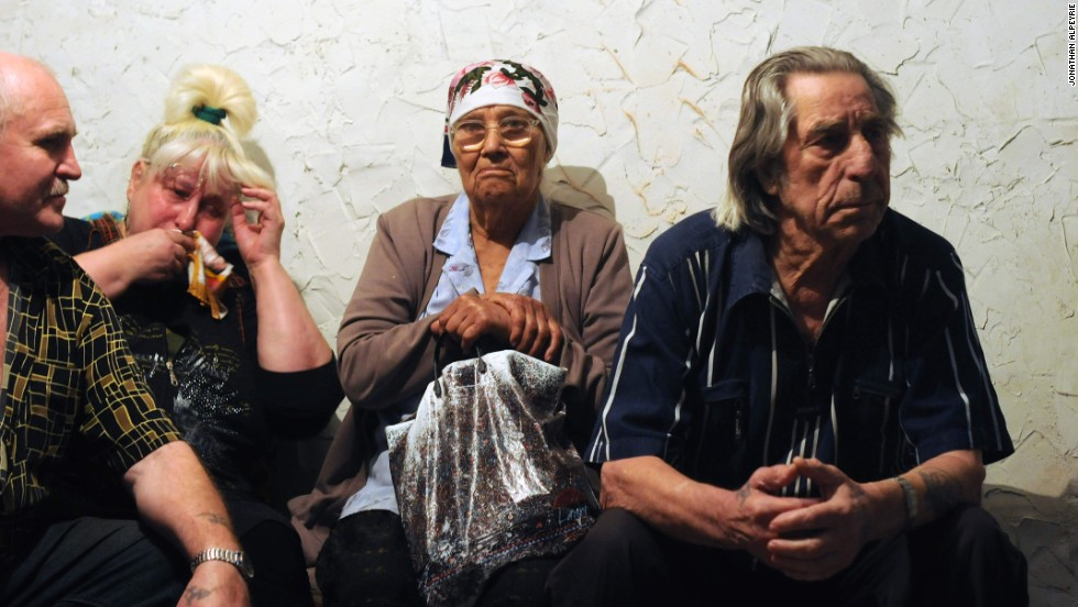 """You see some families that have remained there -- mostly elders and a lot of people that don't really have any money, they have to stay. You also get people who stay because they don't want to leave their homes,"" Alpeyrie told CNN."