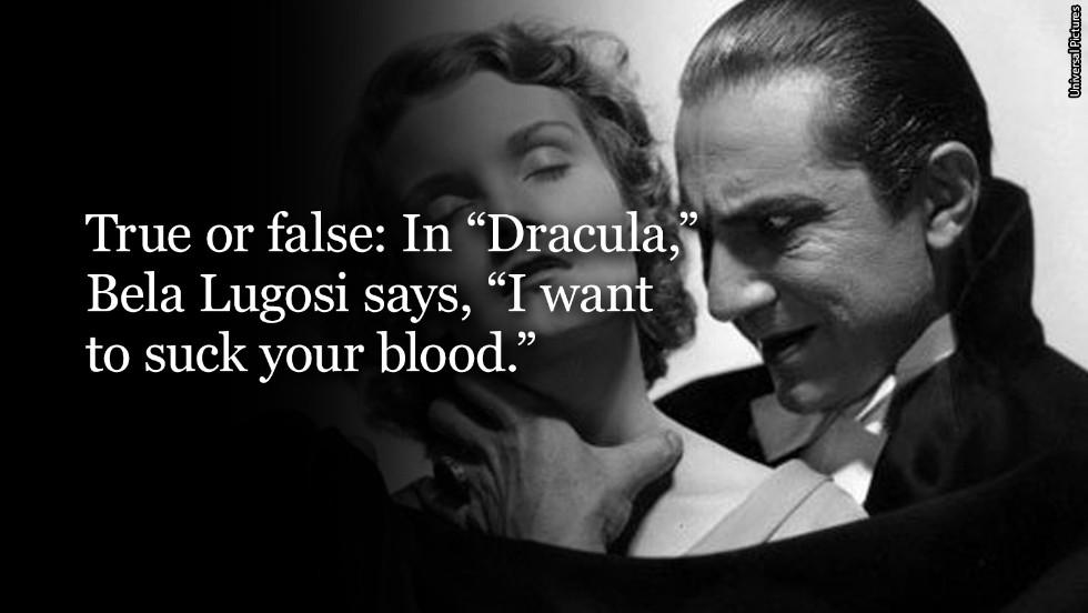 dracula question