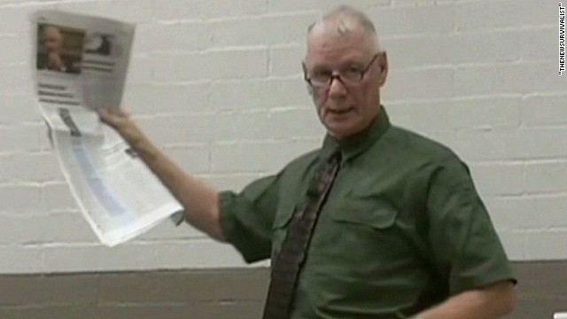 Watch officer's controversial comments