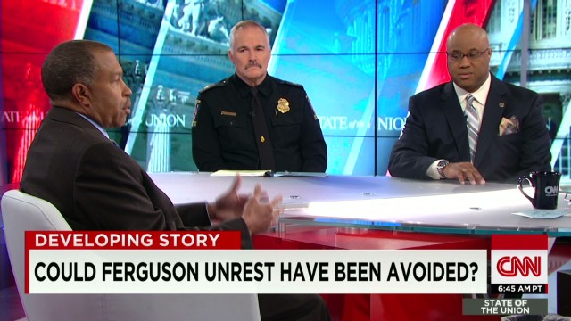 Police chiefs speak out on Ferguson