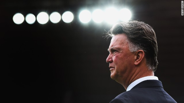 Manchester United coach Louis van Gaal is without a league win this season.