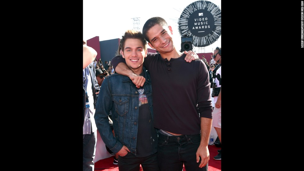 Dylan Sprayberry, left, and Tyler Posey