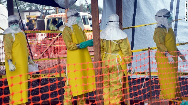 No way out of Ebola quarantine zone