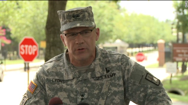 Soldier apparently shoots herself at Fort Lee