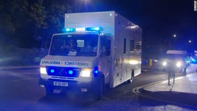British Ebola patient arrives in London
