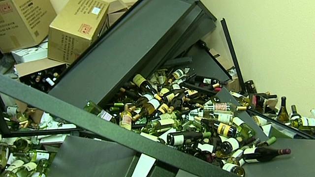Napa quake hits winemakers