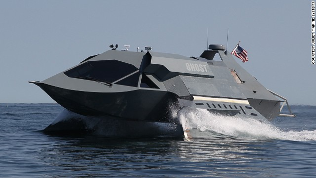 Watch a prototype stealth attack ship in action
