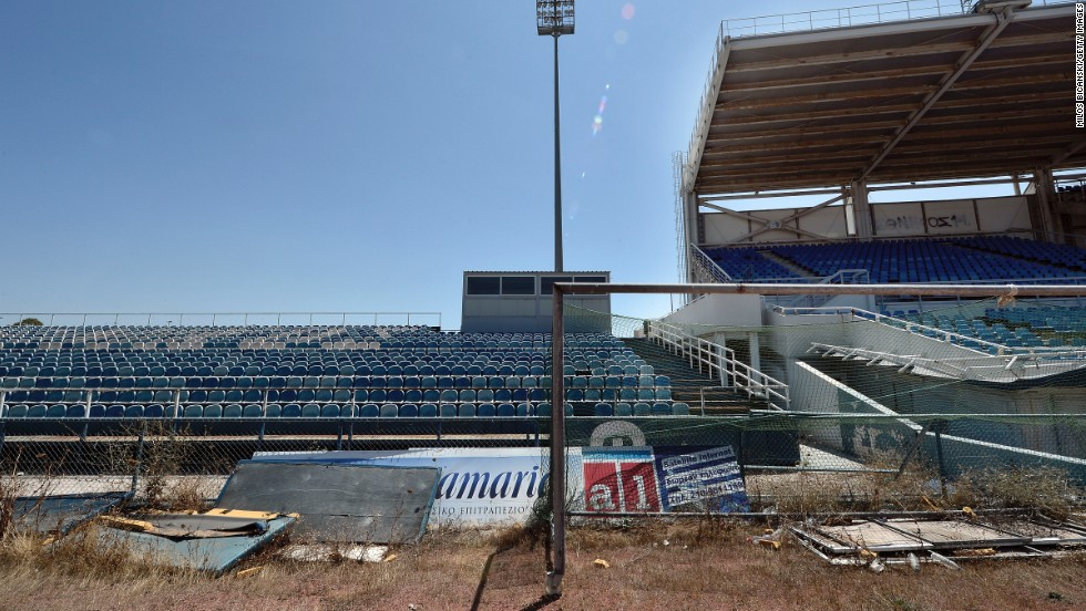 The old baseball stadium is almost unrecognizable from the one which spectators flocked to 10 years ago.