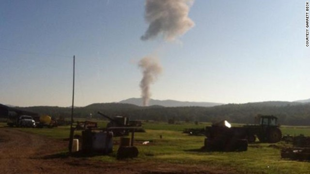 Plane crashes in Virginia mountains