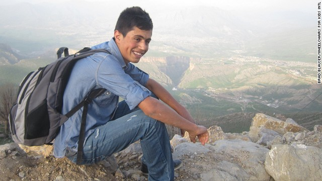 Azwan Elias fears returning to Iraq after ISIS began killing Yazidis.