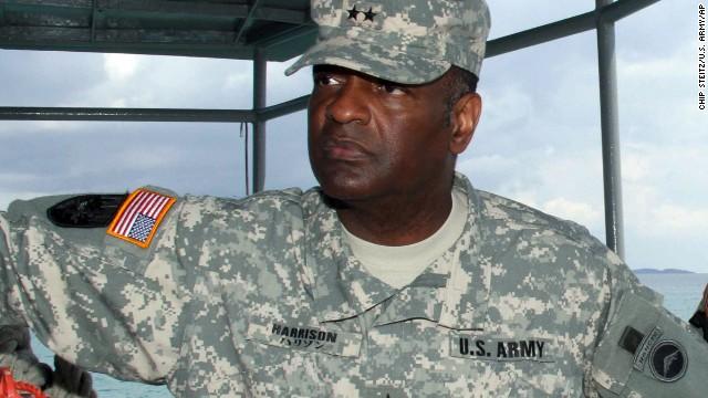 Maj. Gen. Michael T. Harrison was the commander of U.S. forces in Japan.