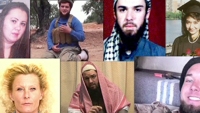 Who are the Americans fighting for ISIS?