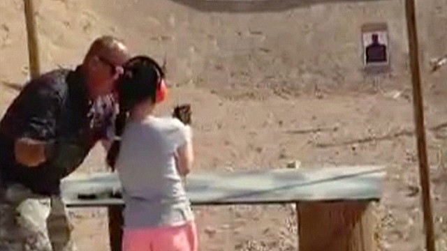 Child kills instructor with Uzi