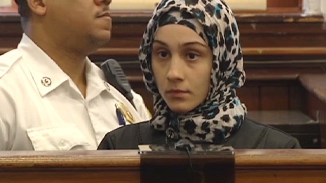 Boston bombing suspect's sister arrested