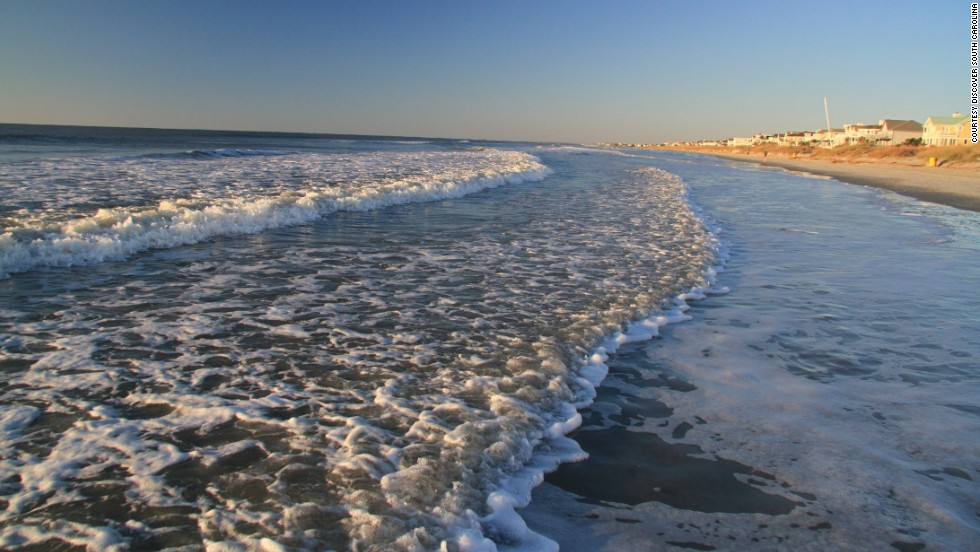 Isle of Palms is an easy coastal escape from nearby Charleston, South Carolina.