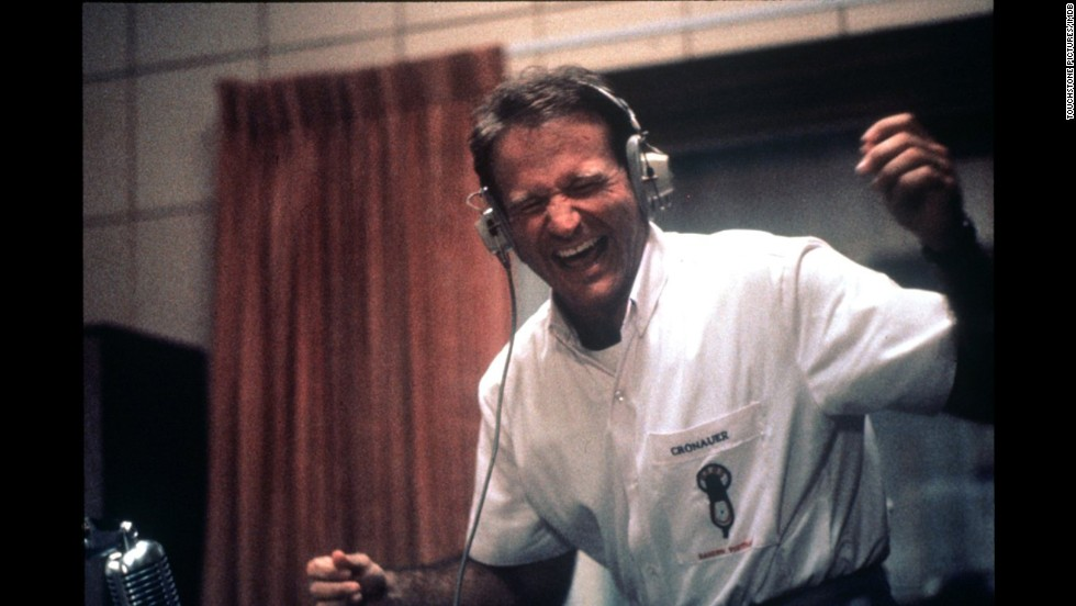 "<strong>""Good Morning, Vietnam"" (1987)</strong>: Williams also stars in this critically acclaimed film about an Armed Forces Radio disc jockey who lifts soldiers' morale. (<strong>Netflix</strong>)"