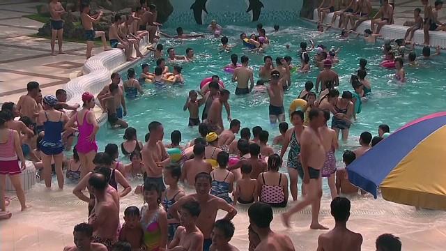CNN tours Kim Jong Un's water park