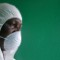 Ebola health worker