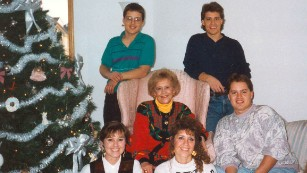 Shirley Almer, center, died of salmonella in peanut butter.