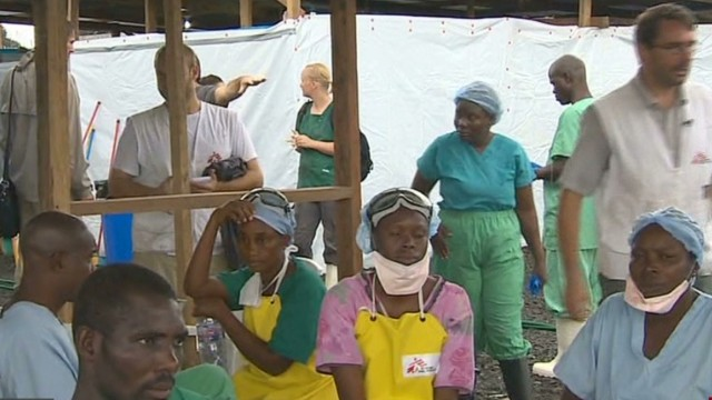 Ebola spreads to a fifth country