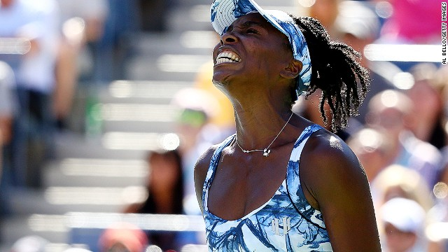 Venus Williams has never won a match after losing the first set 6-0 and it didn't prove any different in New York.