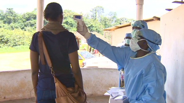 Reporter faces challenges covering Ebola