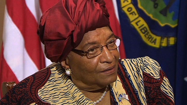 Liberian President: We need hope, help