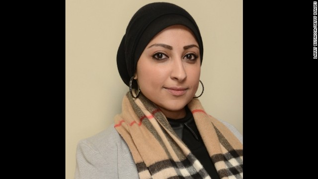 Maryam al-Khawaja says she is in Bahrain to visit her father, who has been on hunger strike since August 24.
