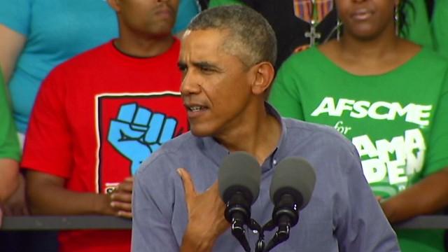 Obama: 'I'd join a union'