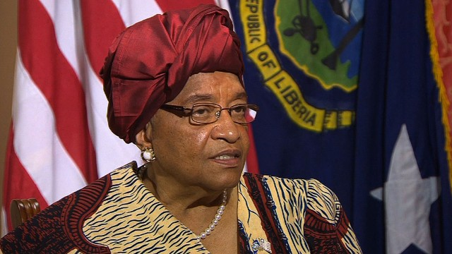 Sirleaf: Saddened by global response