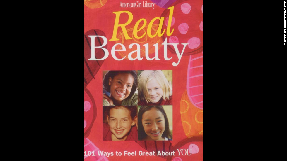 """Real Beauty: 101 Ways to Feel Great About You"" by Therese Kauchak is an interactive book for ages 8+ to help girls during the preteen and early teen years."
