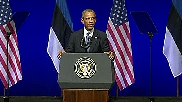 Obama calls on Europe to defend Ukraine