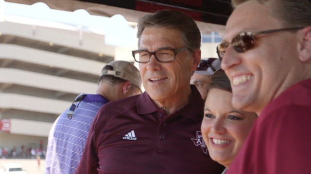 Up close with Rick Perry's Hail Mary