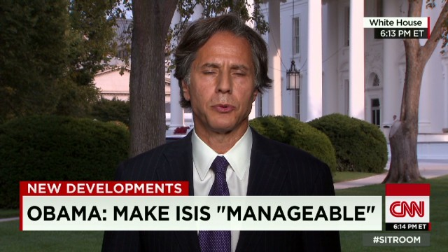 Official: Quick defeat of ISIS unlikely