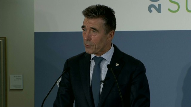 NATO: We are 'in a climate of chaos'