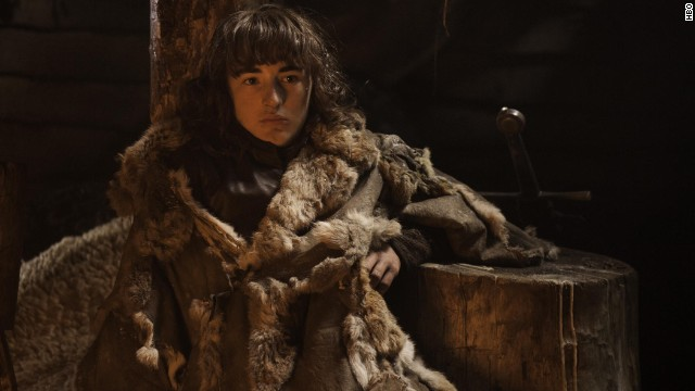 "The character Bran Stark, portrayed by Isaac Hempstead Wright, isn't expected to appear in season five of ""Game of Thrones."""