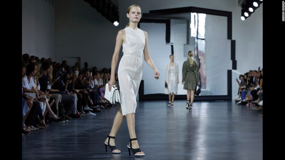 Jason Wu revealed his minimalist spring collection on September 5.