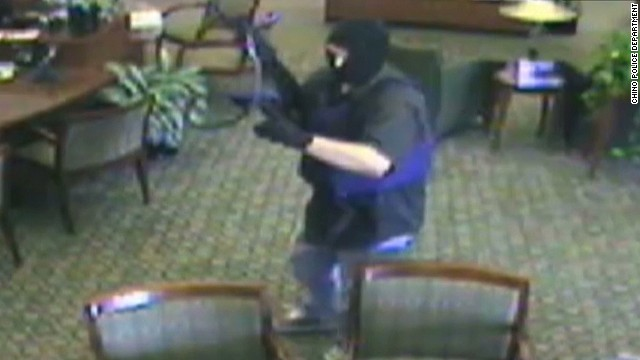 Manhunt underway for 'AK-47 bandit'