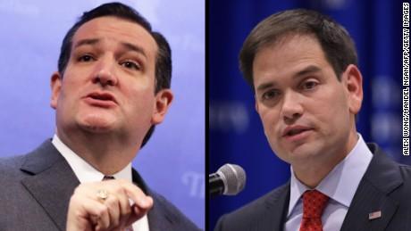 Rubio, Cruz seek post-debate bounce