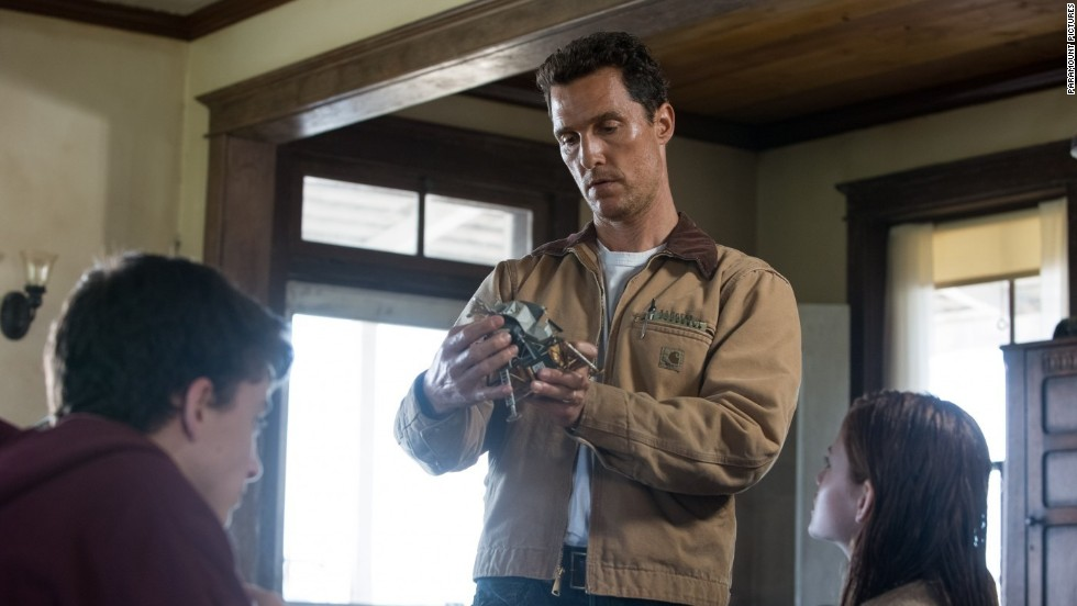 "After a standout year on the awards circuit in 2013, McConaughey's poised to do it all again with Christopher Nolan's space epic ""Interstellar."""