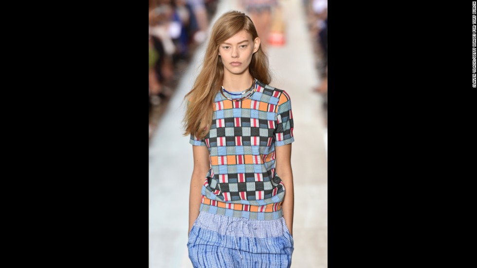 Tory Burch's spring collection was inspired by one of Picasso's muse, Françoise Gilot.