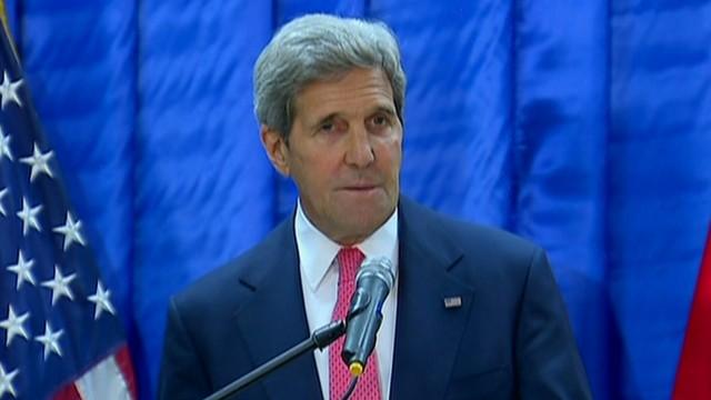 Kerry: U.S. will help fight 'evil' ISIS