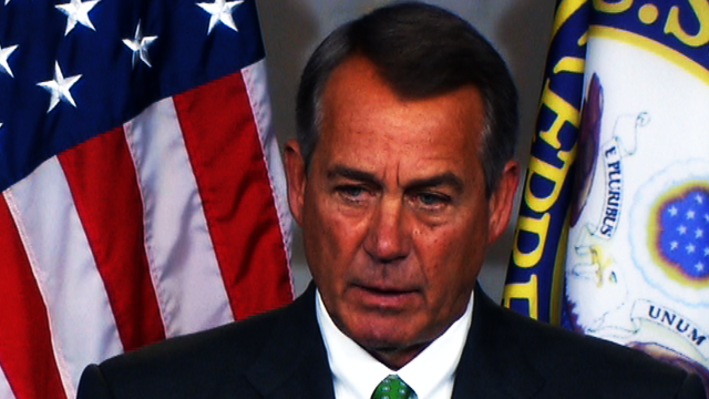 Boehner: Obama's plan may not be enough