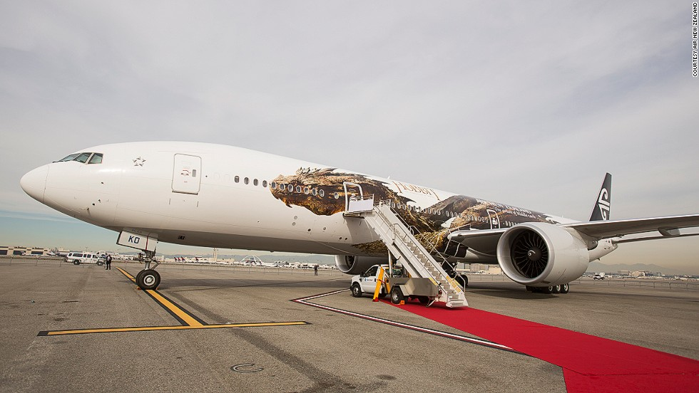 "Over the years, Air New Zealand has gained considerable attention for its Lord of the Rings and Hobbit branding. Calling itself ""The official airline of Middle Earth"", the carrier introduced cinema-themed decals, like Smaug (pictured) to coincide with the release of each movie."