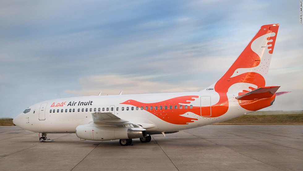 Small Canadian airline Air Inuit introduced some new, very stylish livery in 2014.