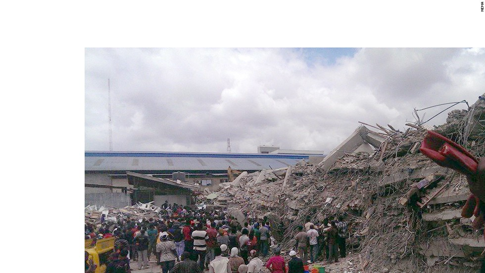 Nigeria Church Building Collapse Church Building Collapsed