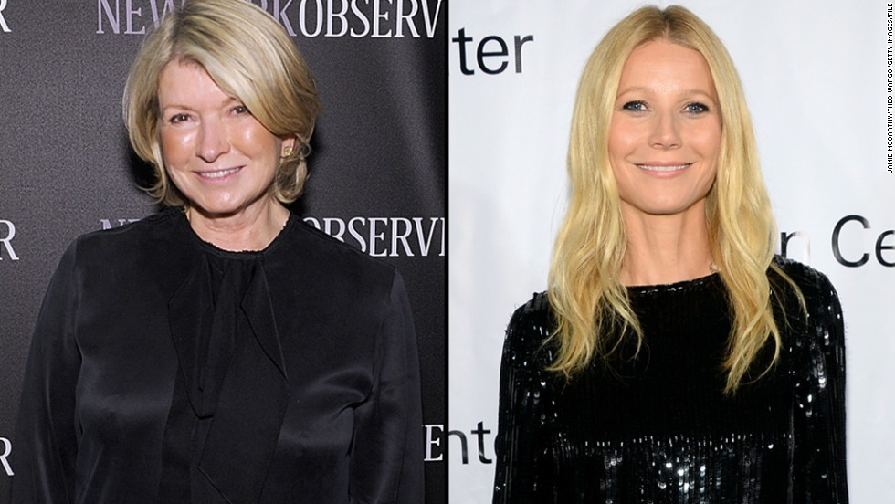 "It seems Martha Stewart isn't the biggest fan of Gwyneth Paltrow's lifestyle brand, GOOP, but Paltrow isn't bothered. After Stewart <a href=""http://pagesix.com/2014/09/12/martha-stewart-thinks-gwyneth-paltrow-should-stick-to-acting/"" target=""_blank"">commented </a>in an interview that Paltrow ""just needs to be quiet"" and not try ""to be Martha Stewart,"" Paltrow took it as a compliment. ""I'm so psyched that she sees us as competition,"" the actress said in October."