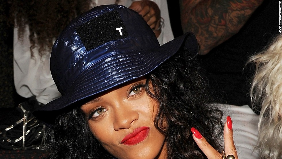 "Rihanna is steaming. A song by the singer -- who was assaulted by then-boyfriend Chris Brown in 2009 -- was pulled from ""Thursday Night Football"" in September 2014 amid coverage of domestic violence and the Ray Rice scandal. She<a href=""https://twitter.com/rihanna/status/511844041131327488"" target=""_blank""> later tweeted,</a> ""CBS you pulled my song last week, now you wanna slide it back in this Thursday? NO, F*** you! Y'all are sad for penalizing me for this."""